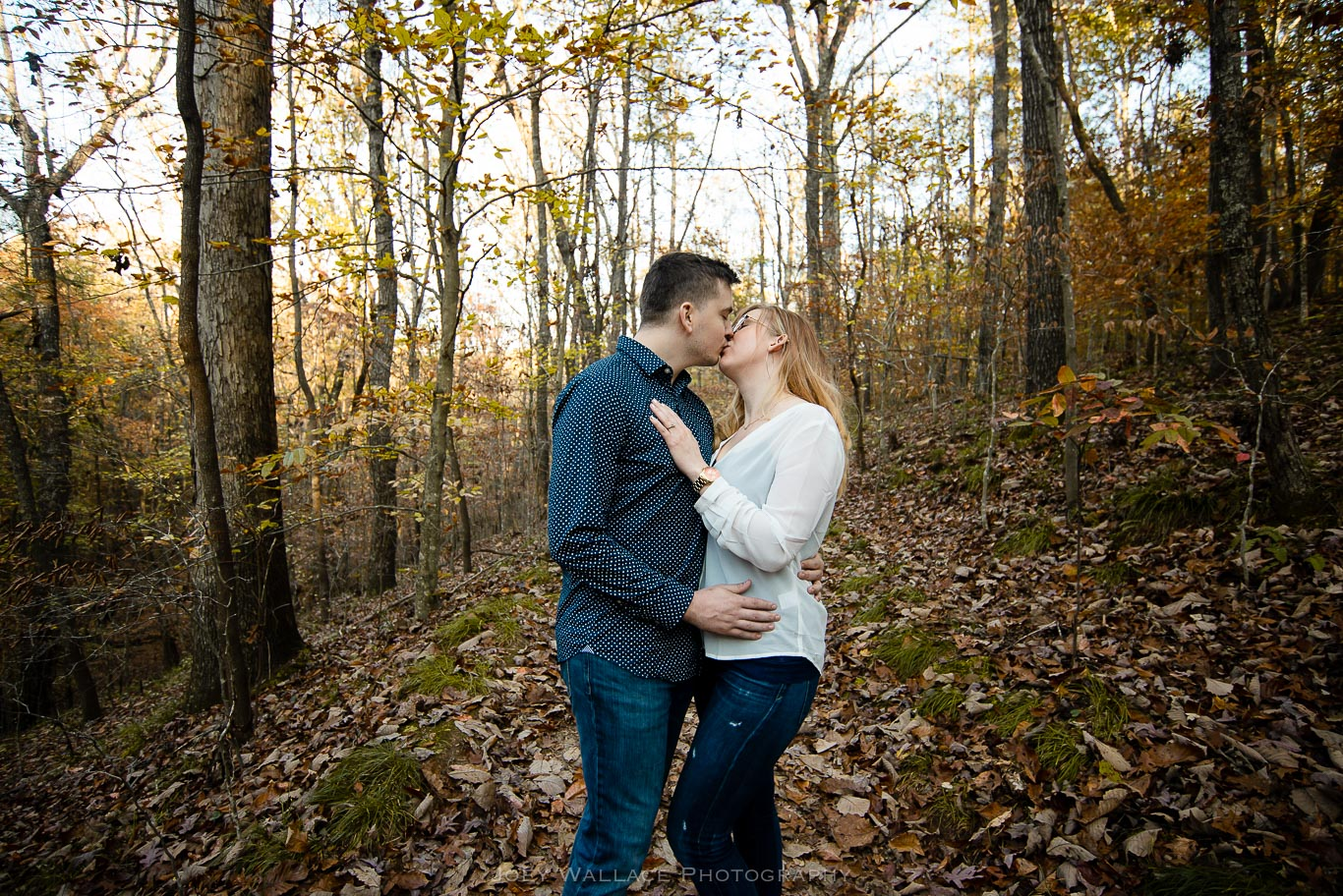 Engagement Session at the Sweetwater Creek State Park