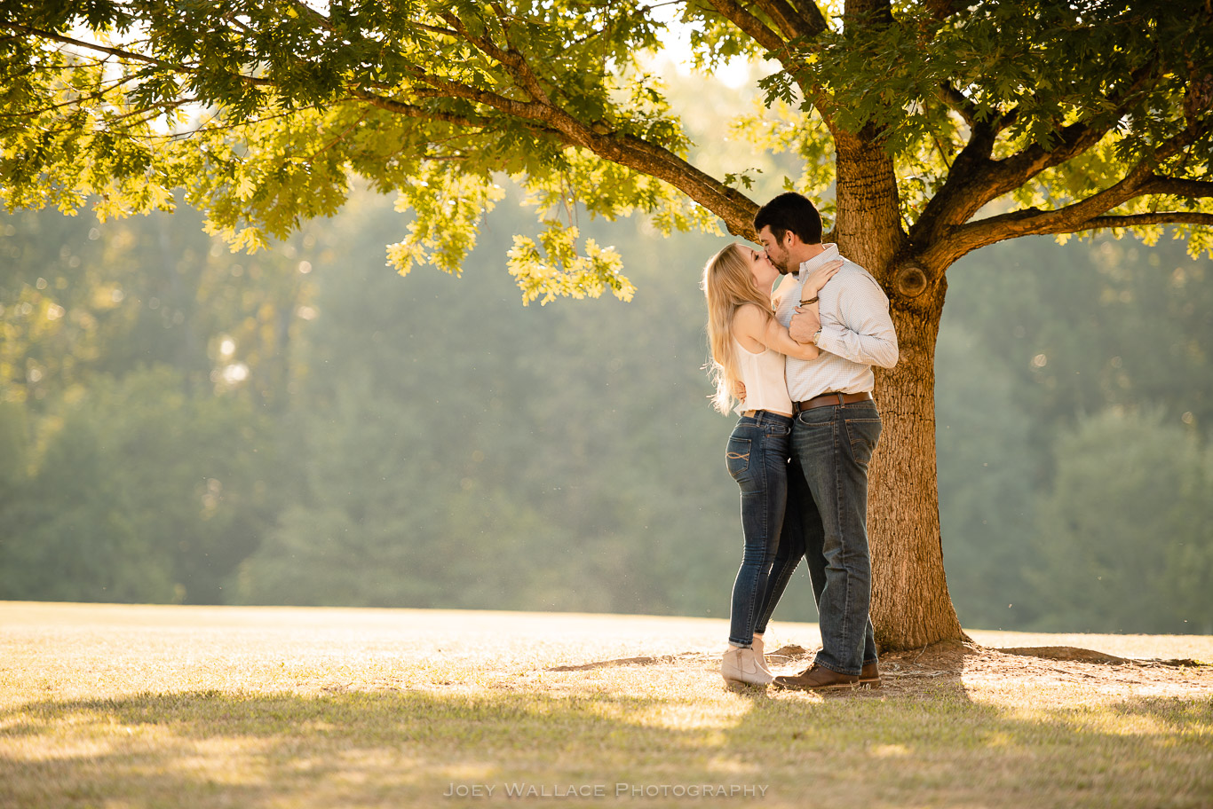 Engagement Session at The Whittier Mills Park