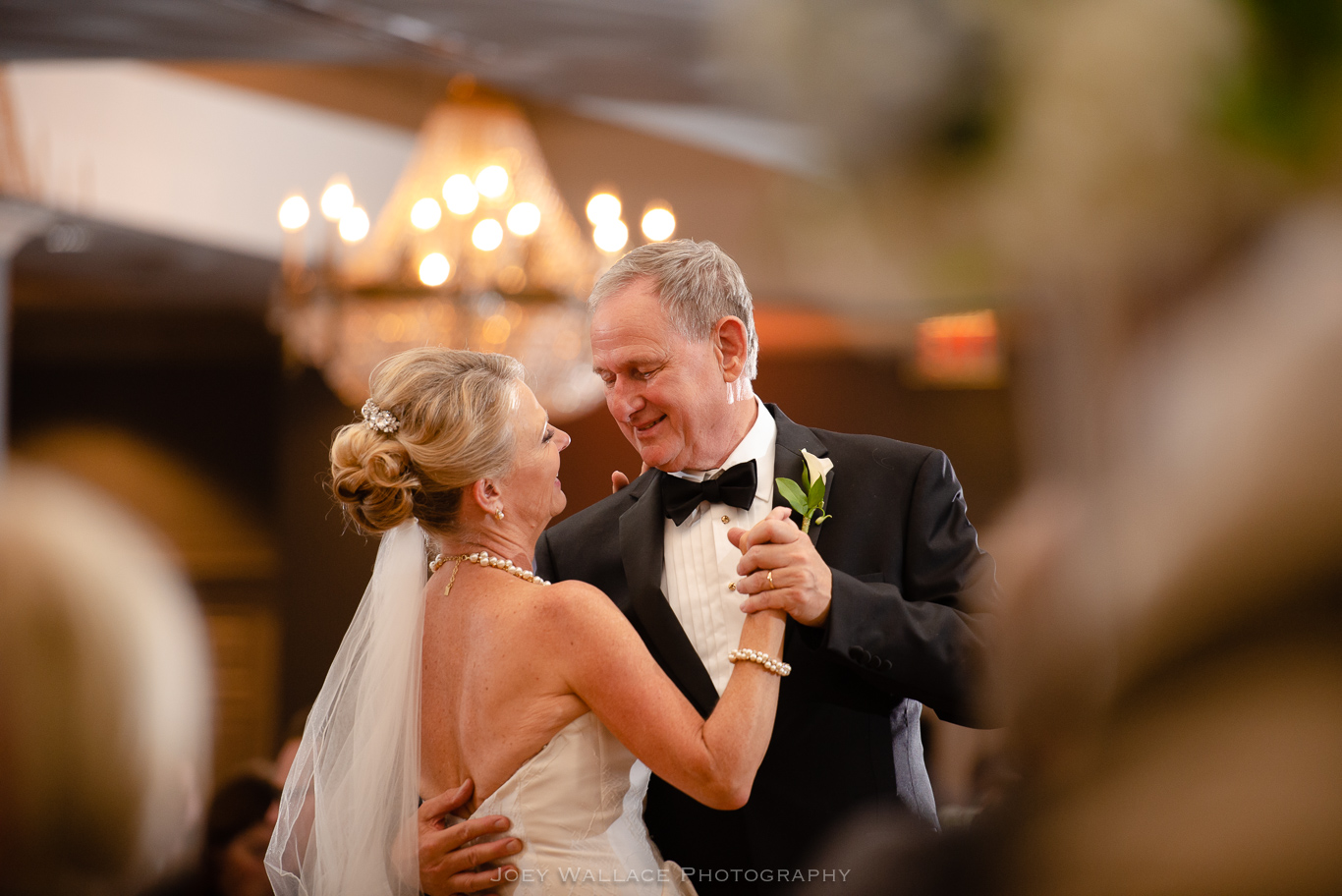 First dance at Wedding Reception At The Eagles Landing Country Club