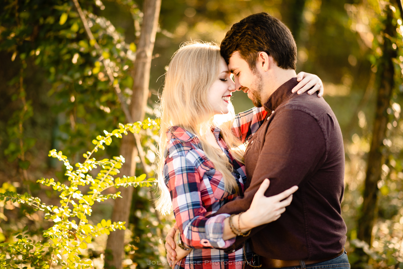 Engagement Session at Whittier Mill Park