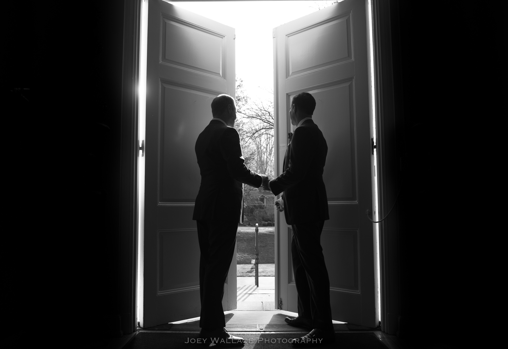 Same Sex Gay Wedding ceremony at the Morningside Presbyterian Church