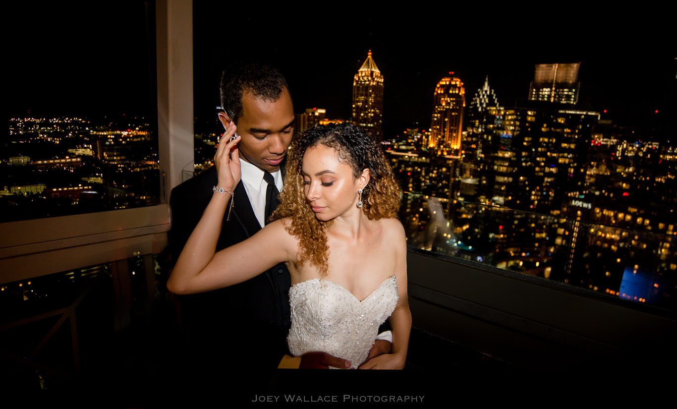 Night Wedding Reception at the Peachtree Club